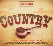 ESSENTIAL - COUNTRY -3CD   POP-ROCK INTERNAZIONALE