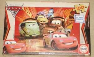 Educa Disney Cars 100pcs wood jigsaw puzzle 14937 new sealed