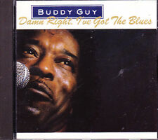 Buddy Guy - Damn Right I've Got The Blues (1991) audio CD, mint