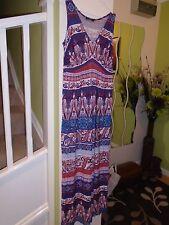 George V Neck Sleeveless Maxi Dresses for Women
