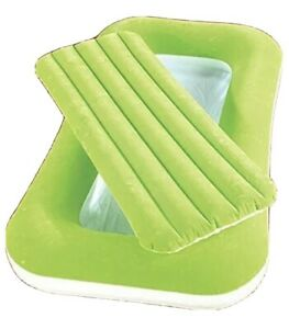 52x30x8 Green Inflatable Kiddie Beds Kids Bed New In Box. I8