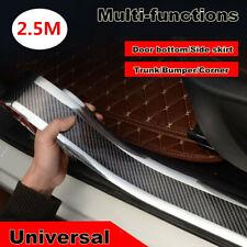 5D 2.5M*7cm Car door sill triml scuff plate Rear trunk bumper scratch-resistant