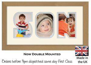 Son Photo Frame Word Frame Picture Gift Photos in a Word