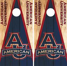 American Eagles Cornhole Wrap NCAA Logo Game Skin Decal Vinyl Set CO953
