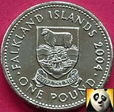 2004 FALKLAND ISLANDS £1 One Pound Rare Falkland Island Desire the Right Coin