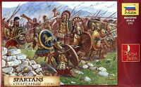 Zvezda 1/72 8068 Spartans Full-Time Soldiers at 5th BCE (41 Figures, 12 Poses)