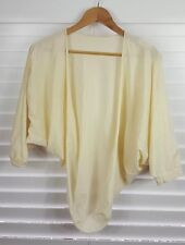 Mesop Pale Yellow Cardigan - Excellent Condition - Size 3 - Stretchy