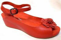 TS shoes TAKING SHAPE sz 6 / 37 Sienna Wedge wide-fit comfy sandals NWT! rrp$170