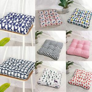 Thick Square Chair Cushion Pad Seat Tatami Patio Mat Floor Throw Pillows Decor