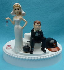 Wedding Cake Topper Baltimore Orioles O's Baseball Key Themed Sports Fans Funny