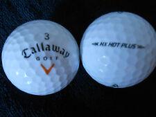 "20 CALLAWAY - ""HX HOT PLUS"" - ORANGE TICK -  Golf Balls -  ""A""  Grade."