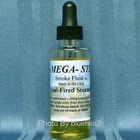 Mega Steam COAL-FIRED STEAMER Smoke Fluid For Lionel O G O27 HO N Gauge Signal
