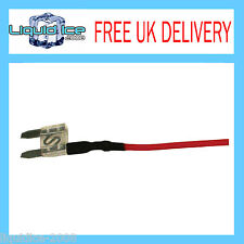 AUTOLEADS MFS25A 25 AMP MINI SPUR BLADE FUSE LEAD CABLE FOR CAR VAN BUS VEHICLE