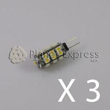3 x Ampoule G4 25 Led SMD Blanc Froid 125 Lumens 12V DC caravane,bateau,voiture