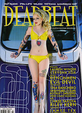 DEADBEAT MAGAZINE #23 VTG HOT ROD PINUP TATTOO ART KULTURE RAT CUSTOM 1930 FORD