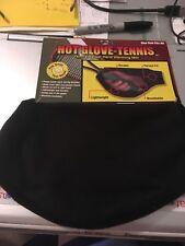 Hot Glove Tennis Mitt Black Fleece One Size Fits All