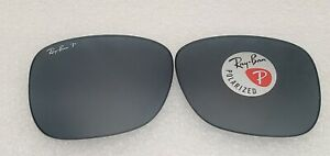 New Ray-Ban RB4165 Polarized Blue Classic Replacement lens Only 54mm