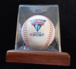 1980s Crest Toothpaste 27 Facsimile Autographed Baseball Molitor Biggio Ozzie NR