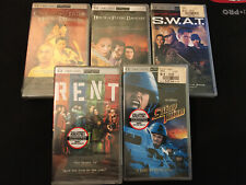 sony psp umd movies lot of 5 All Brand New Factory Sealed