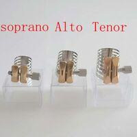 sax ligature Stainless steel Tenor Alto soprano sax Metal ligature
