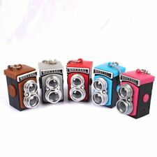 Style LED Flash Light Key Chains Key Rings Car Decoration Interior Accessories