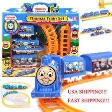 Tomas Battery Cotrol Plastic Train Set Kids Toy Christmas Gift USA Shipping