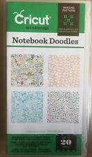 Cricut Imagine Art  Cartridge Notebook Doodles Notizbuch Kritzeleien Provo Craft