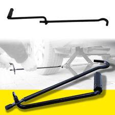 1X Compact Steel Car Scissor Jack Crank Lever Handle Lift Rod Post Garage Tool