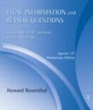 Vital Information and Review Questions for the NCE, CPCE and State Counseling...
