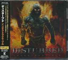 DISTURBED CD Indestructible ,JAPAN w/OBI (WPCR - 12886) +Bonus -METALLICA-MAIDEN