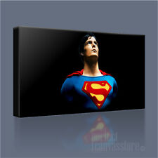 SUPERMAN FABULOUS CHRISTOPHER REEVE ICONIC CANVAS ART PRINT PICTURE Art Williams