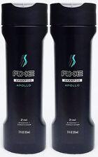 2 Axe For Men APOLLO 2in1 Hair Shampoo + Conditioner 12 oz
