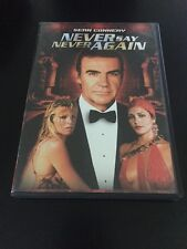 NEVER SAY NEVER AGAIN DVD SEAN CONNERY U.S. VERSION WITH COLLECTIBLE BOOKLET