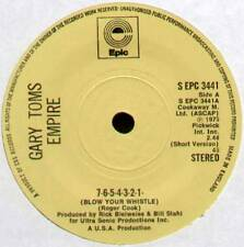 """[ROGER COOK] GARY TOMS ~ 7-6-5-4-3-2-1 (BLOW YOUR WHISTLE) ~ 1975 UK 7"""" SINGLE"""