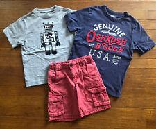 Gymboree Oshkosh Cherokee Boys Spring Clothing Lot Tops Shorts 5 5T 6