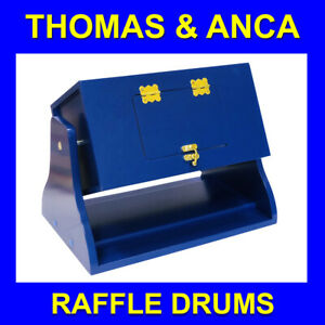 Raffle Tombola Lotto Draw Drum for Raffle Tickets Balls discs Office Furniture B