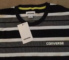 NEW Mens Converse Engineered Stripe T-Shirt Top Retro Limited Edition Casual