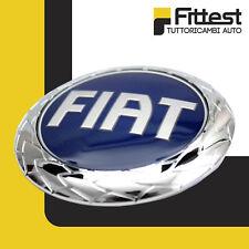 Fregio stemma logo Fiat Posteriore Punto 188 Croma Siena Blu Ø95mm fino a 2006