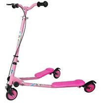 AODI Swing Scooter Foldable Wiggle Kick Scooters Self Propelling Speeder Outdoor