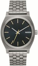 Nixon Time Teller reloj - Bronce/indigo