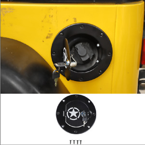 Pop-up Gas Cap Fuel Filler Door Cover with Lock For 1997-2006 Jeep Wrangler TJ
