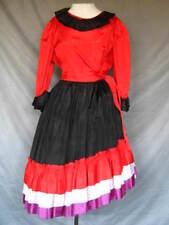 Cinco de Mayo Dress Cuban Carmen Miranda Pirate Latin Mexican 2 Piece