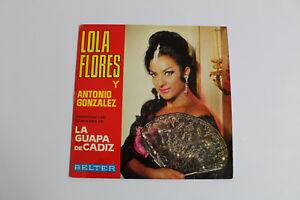 Disk De Vinyl -lp- Lola Flores Y Antonio Gonzalez IN the Beautiful Cadiz - 1966