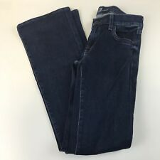 7FAM 7 For All Mankind Womens Jeans 25 The Skinny Bootcut Dark Wash Blue
