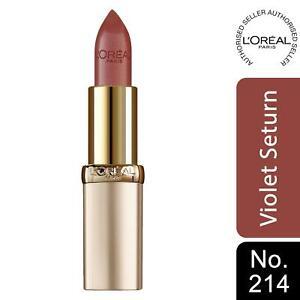 L'Oreal Paris Color Riche Satin Lipstick 214 Violet Saturne