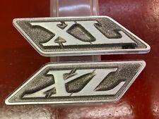 1970 Ford Galaxie 500 Xl Fastback Roof Emblem Ornament Pair Originals Fomoco