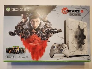 Xbox One X Gears of War 5 limited edition console