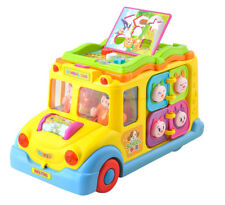 Lernspielzeug interkativ Schulbus Motorikspielzeug Babybus Spielzeugauto 2892