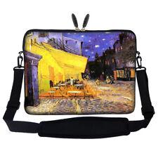 """17.3"""" Laptop Computer Sleeve Case Bag w Hidden Handle & Shoulder Strap 3006"""