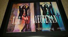 The Bad Lieutenant Rare Original Promo Poster Ad Framed!